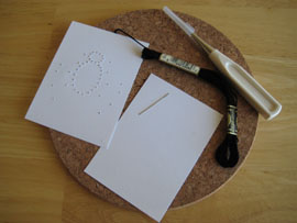 Basic Instructions for Hand-Stitched Cards