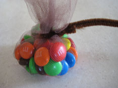 pipe cleaner turkey favor