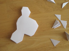 folding paper snowflakes