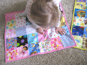 Mini I Spy Quilts Make And Takes