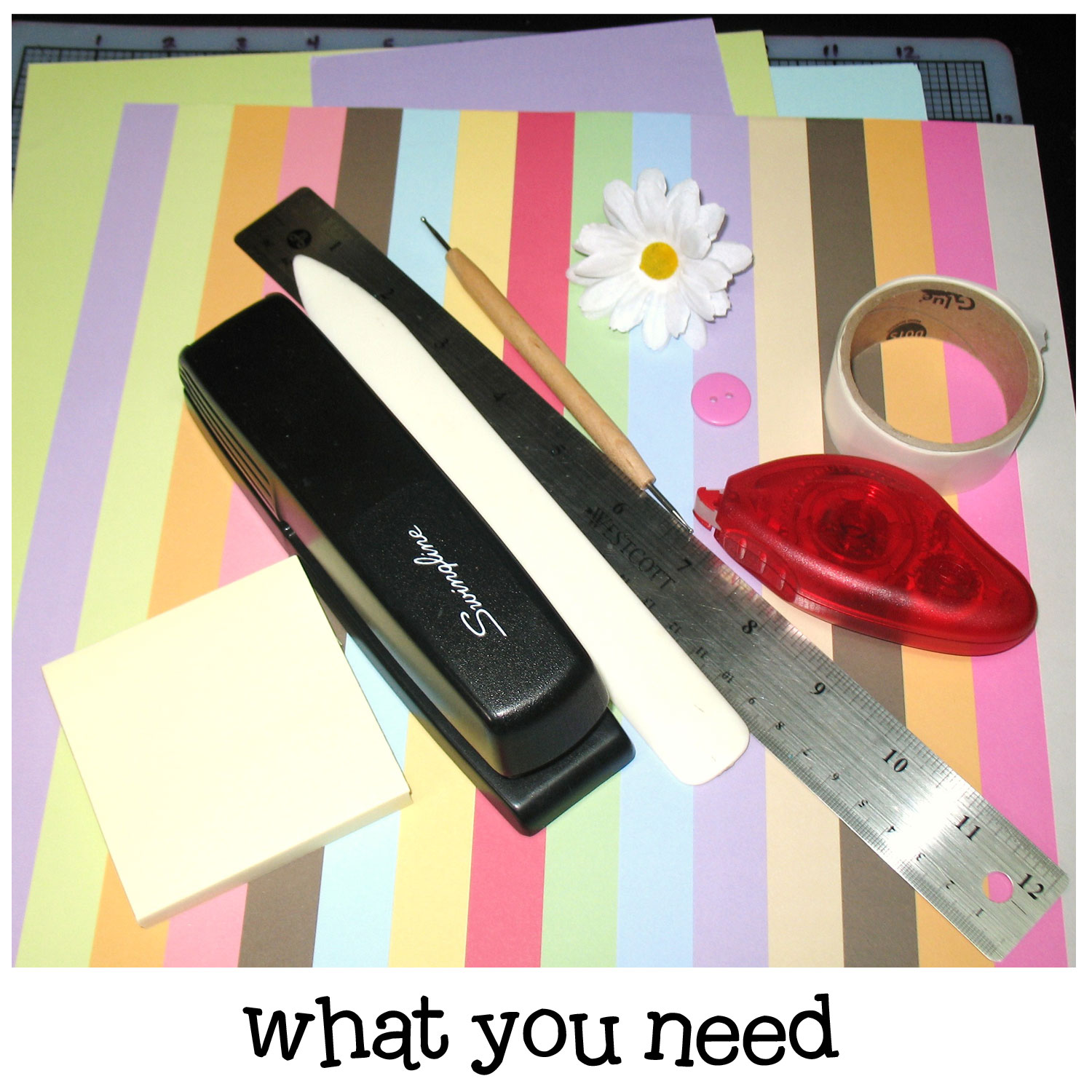 Sticky Note Holder Make And Takes