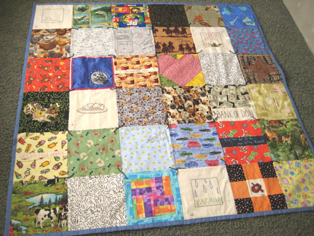 Memory Quilt Make and Takes