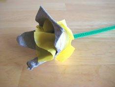 Flower Egg Carton Art