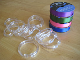 ribbon rings supplies