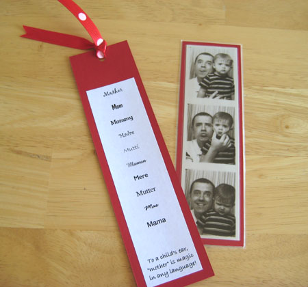 A Bookmark for Mom | Make and Takes