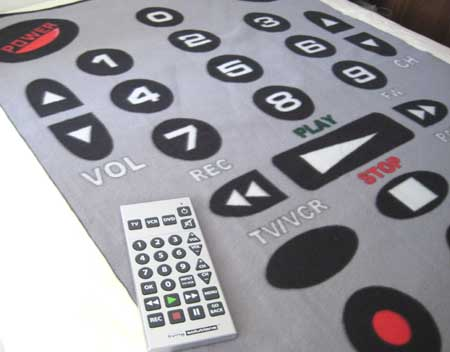 Remote Control Blanket