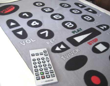 Remote Control Blanket