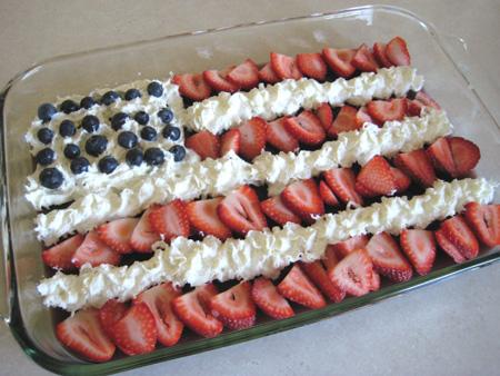 Jello American Flag