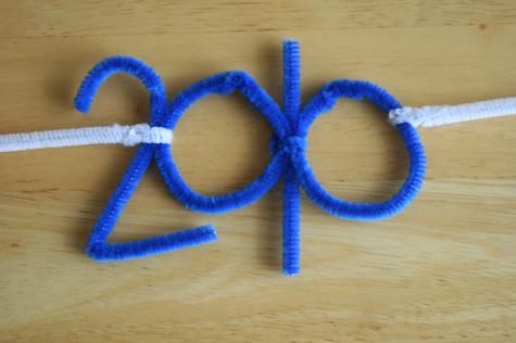 2010 Kids Crafty New Year Glasses