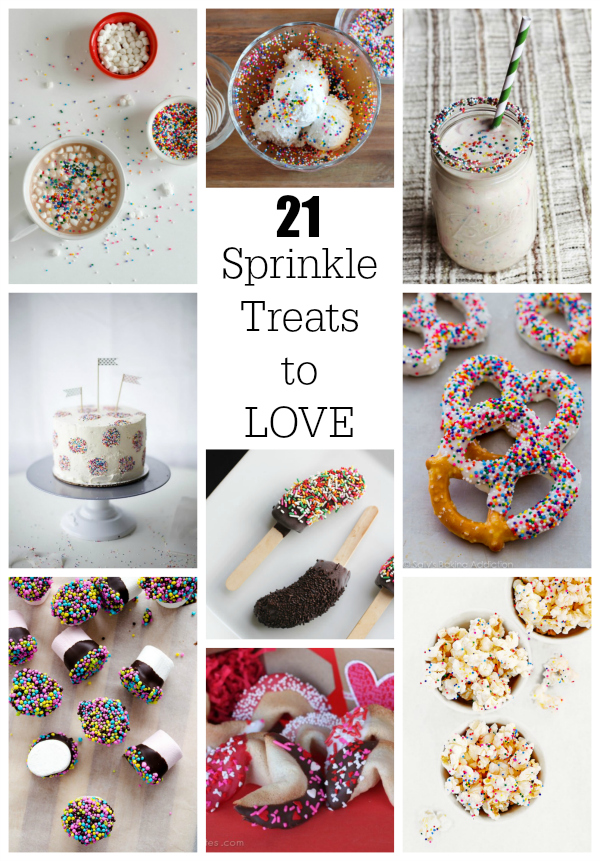 21 Sprinkle Treats You'll LOVE