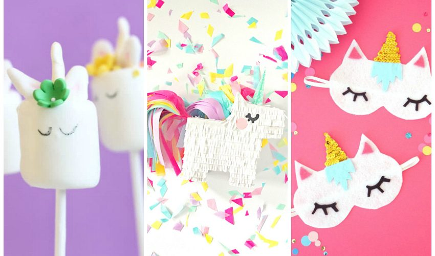 22 Unicorn Crafts that must be made!