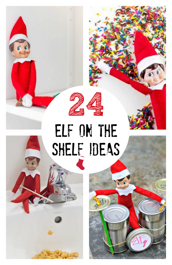 24 Creative Elf On The Shelf Ideas Make And Takes