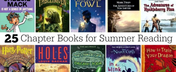 25 Chapter Books to Read this Summer