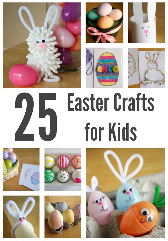 25 Kid Friendly Easter Crafts To Make Make And Takes