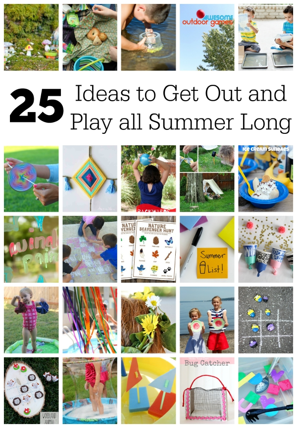 25 Ways to Get Out and Play!