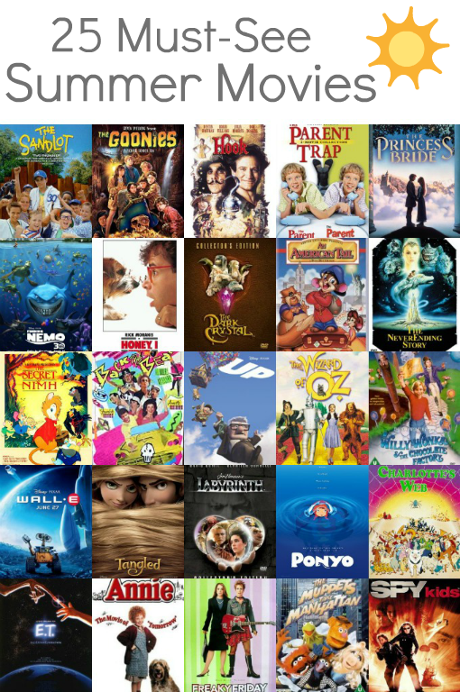 25 Must See Summer Movies