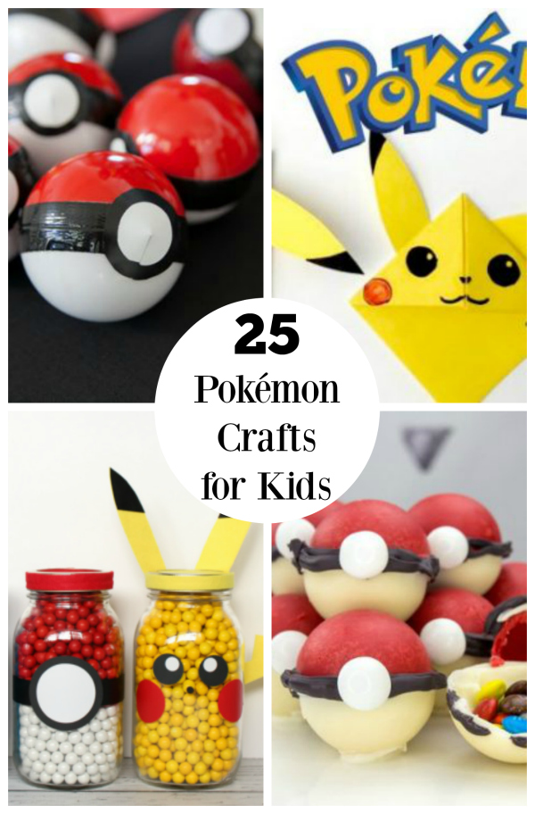 25 Pokémon Crafts for Kids