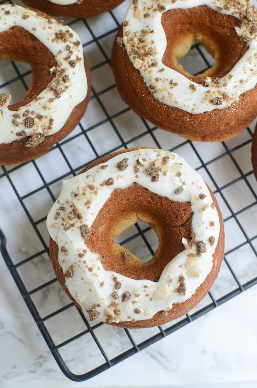 Peanut Butter Dog Doughnuts