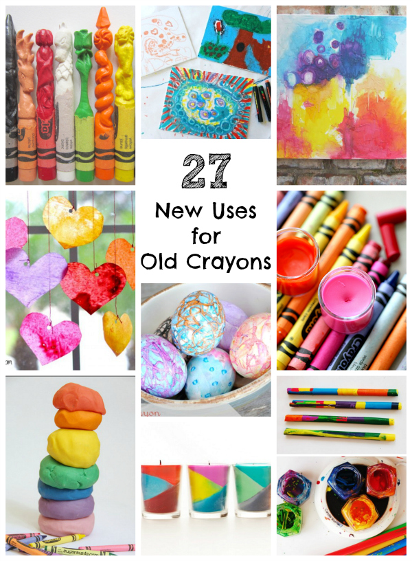 27 New Uses For Old Broken Crayons Make And Takes