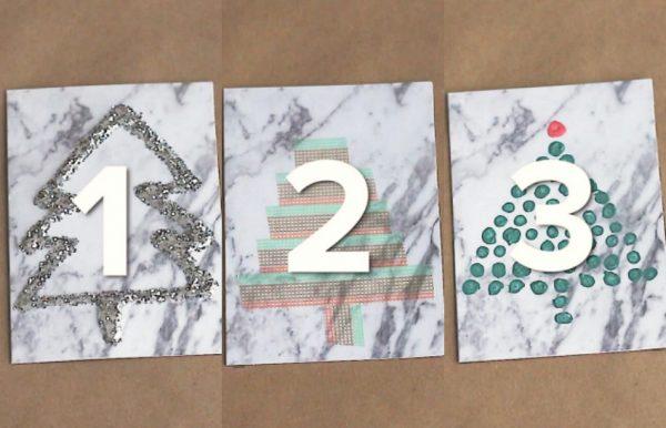 3 DIY Ways to Decorate Christmas Tree Cards