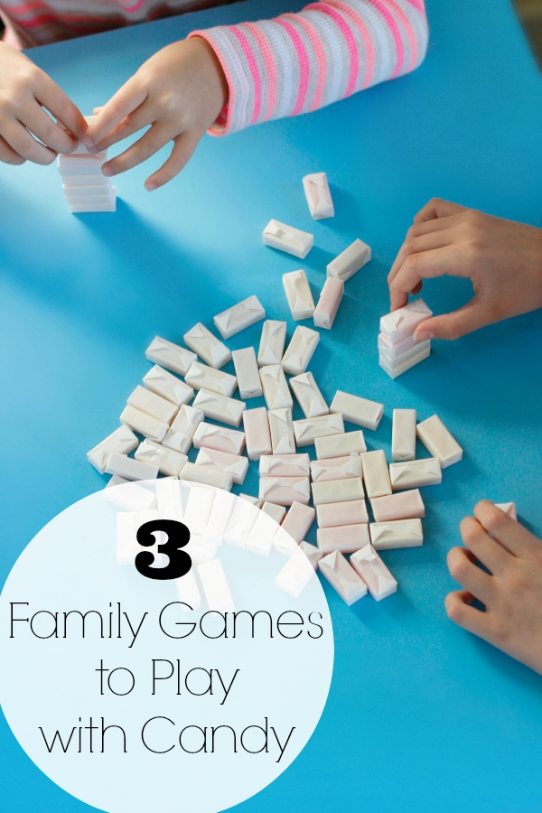 3 family games to play with candy make and takes