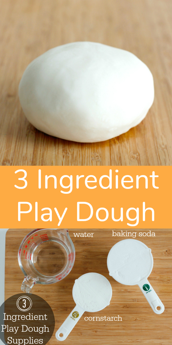 3 Ingredient Play Dough Recipe to Make