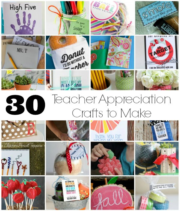 30 Teacher Appreciation Crafts to Make