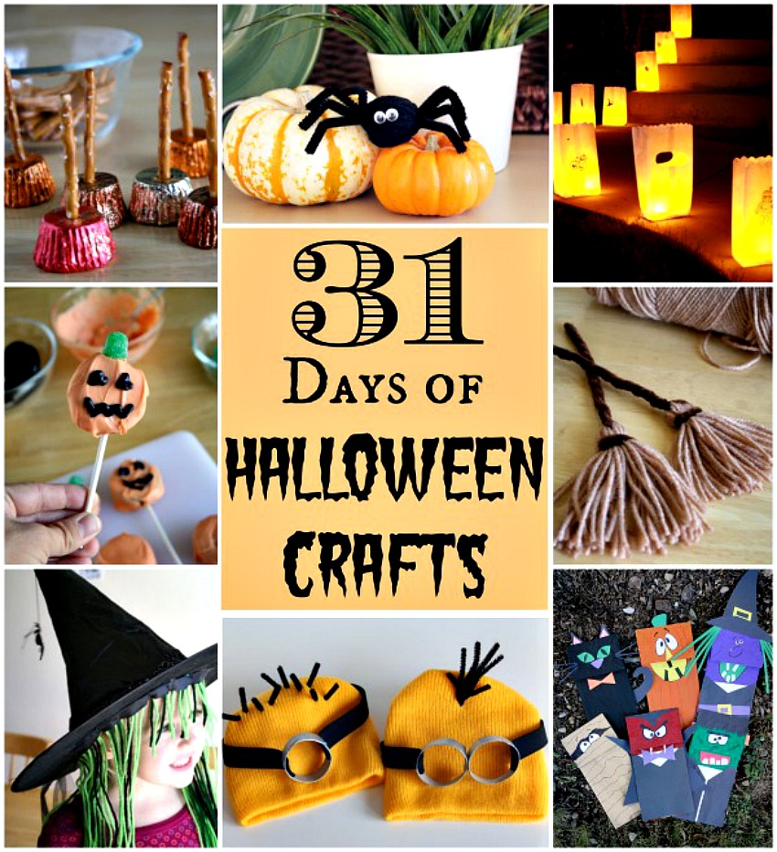31 Days Of Spooktacular Halloween Crafts Make And Takes