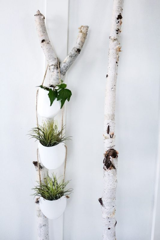 Modern DIY Hanging Planter