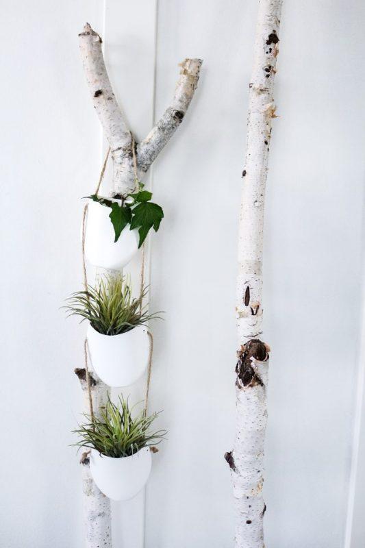 Modern DIY Hanging Planter