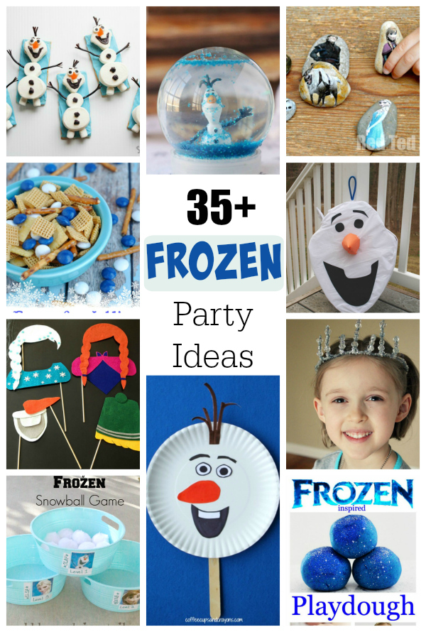 35 Crafts Games And Treats For A FROZEN Birthday Party