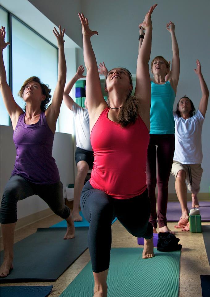 Yoga Crescent Lunge