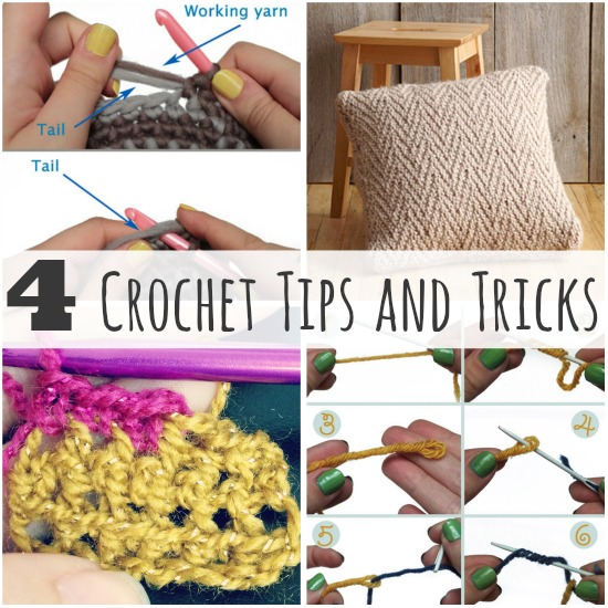 4 Crochet Tips and Tricks