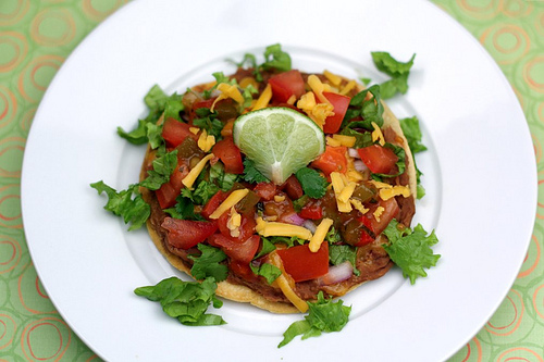 Make Simple and Healthy Veggie Tostadas