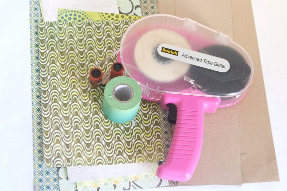 Make a Mini Paper Album Supplies