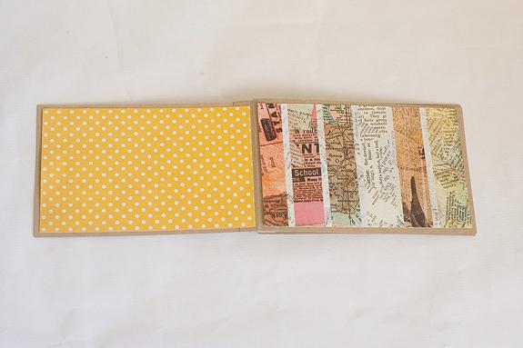 DIY Mini Paper Album From Scratch