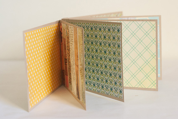 Make a Mini Paper Album for a Gift