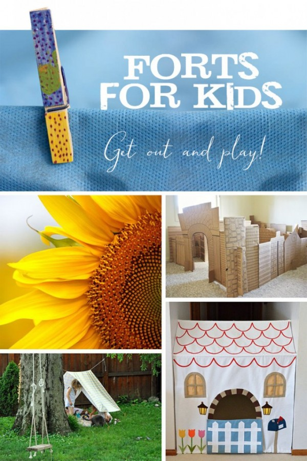 5 Creative Forts for Kids to Get Out and Play