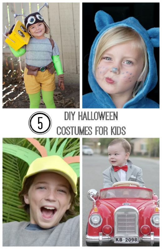 5 DIY Halloween Character Costumes  sc 1 st  Make and Takes & 5 DIY Halloween Character Costumes Kids Will Love | Make and Takes