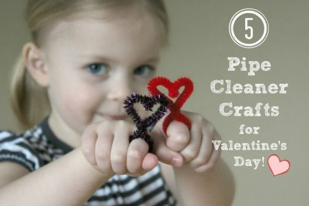 5 DIY Pipe Cleaner Crafts for Valentine's Day