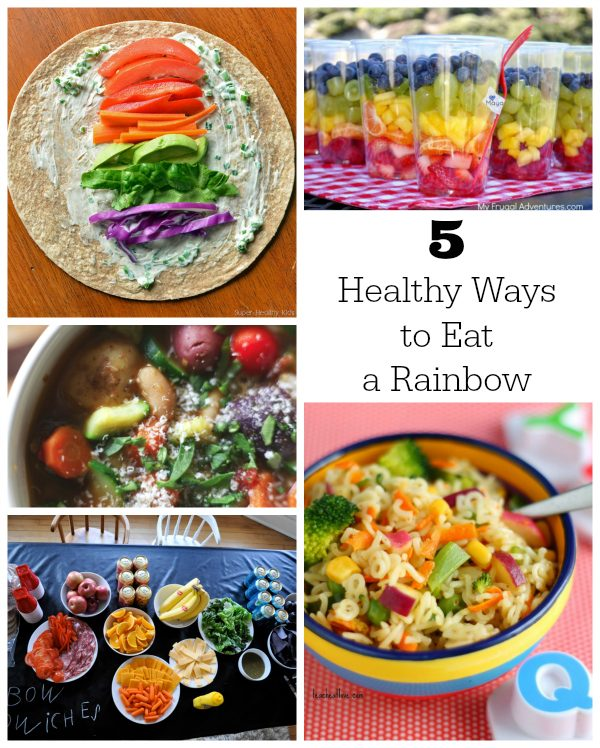 5 Healthy Ways to Eat a Rainbow