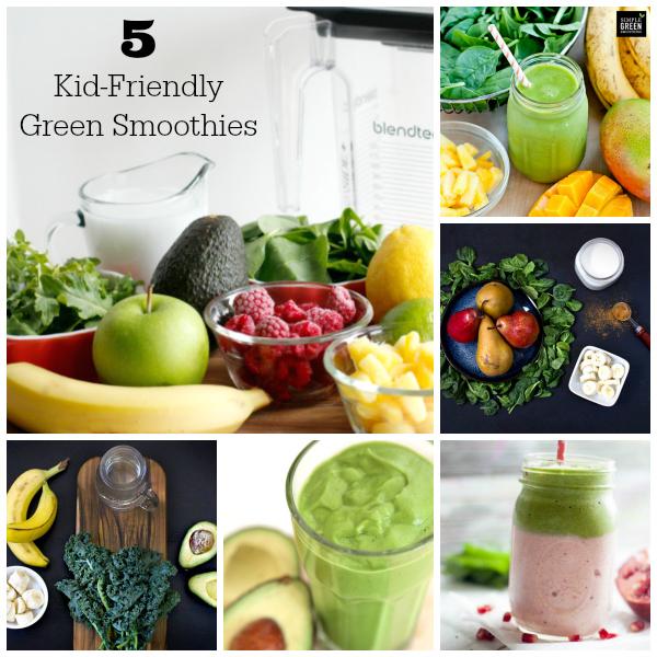 5 Kid-Friendly Green Smoothie Recipes