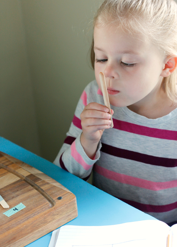 5 Senses Exploring Smell with Essential Oils and Craft Sticks