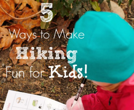 5 Ways to Make Hiking Fun for Kids @makeandtakes.com