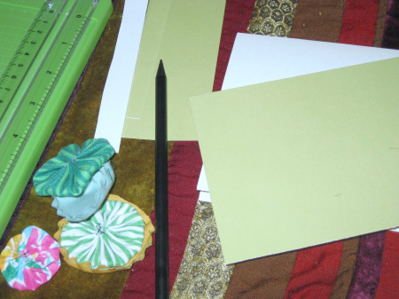 Fabric Greeting Card Supplies