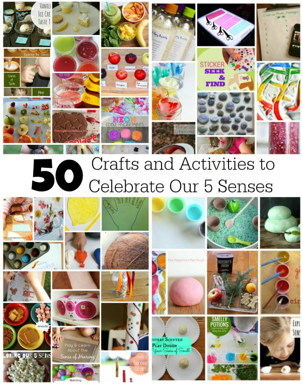 50 Crafts and Activities to Celebrate Our 5 Senses