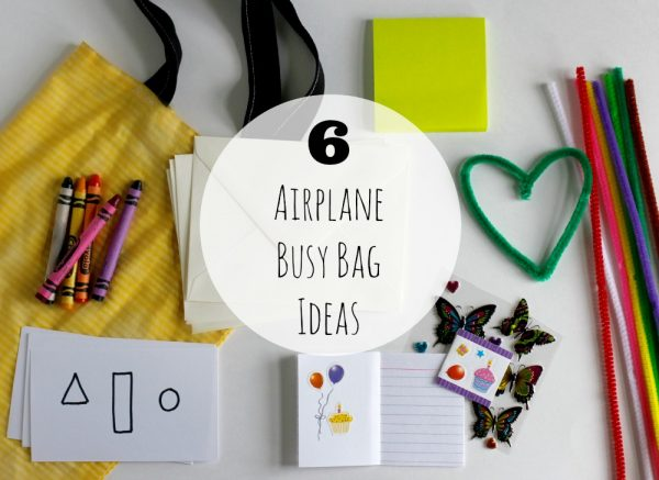 6 Airplane Busy Bag Ideas