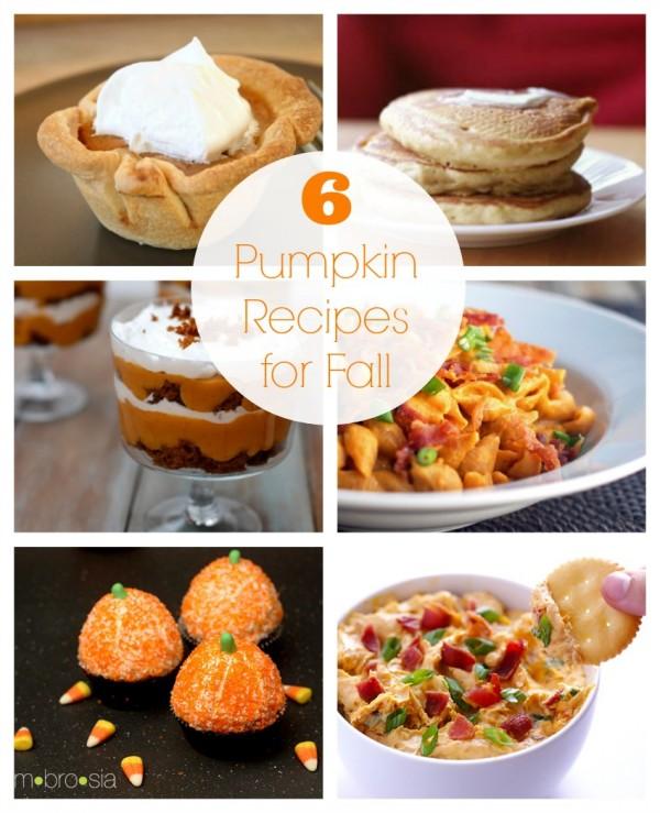 6 Pumpkin Recipes for Fall