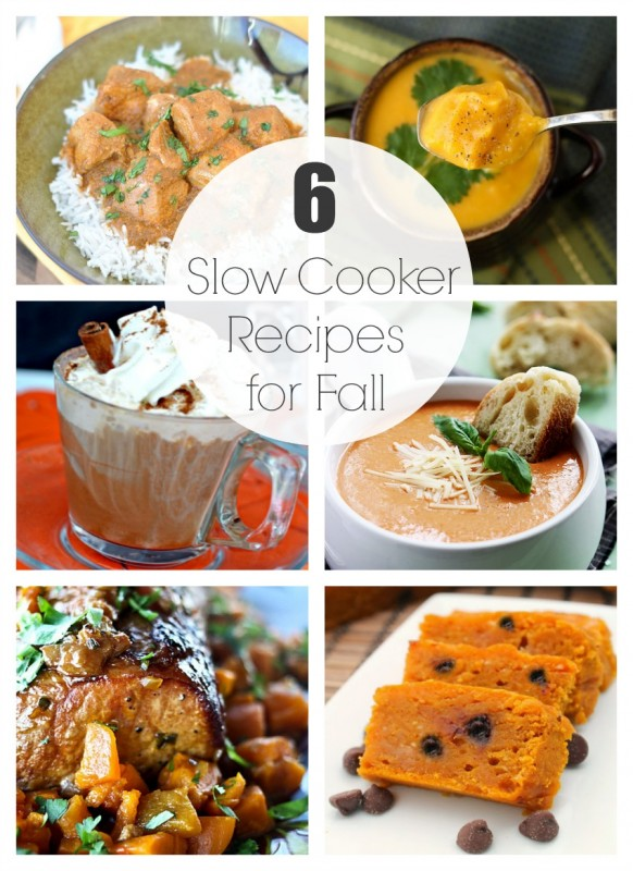 6 Slow Cooker Meals for Fall