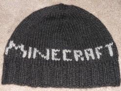 Minecraft Knit Hat